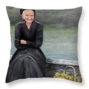 Pasqualina Di Scanno Throw Pillow