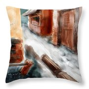 Pass Throw Pillow