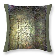 Passage From The Storms Throw Pillow