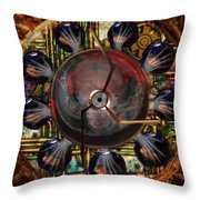 Passage Of Time Series Throw Pillow