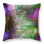 Passage Through Life Throw Pillow