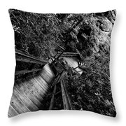 Passage Way Throw Pillow