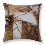 Passages #2 Throw Pillow