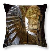 Passages - Dover Castle Throw Pillow