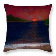 Passageway Sunset Throw Pillow