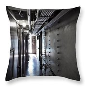 Passageway To The Past Throw Pillow
