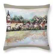 Passau II Throw Pillow