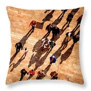 Passers Throw Pillow