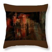 Passers In The Night Throw Pillow