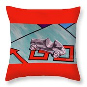 Passing Go Throw Pillow