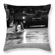 Passing Hastings Throw Pillow