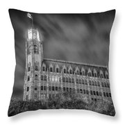 Passing Storm At The Emily Morgan Hotel Throw Pillow