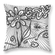 Passing Time 47 Throw Pillow