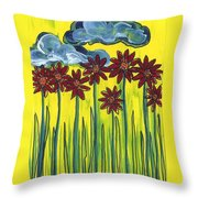 Passing Time 64 Throw Pillow