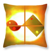 Passion And Power Throw Pillow