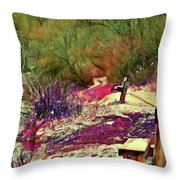 Passion Colors Everything  Throw Pillow