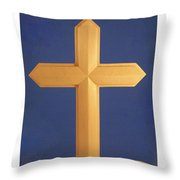 Passion Cross Throw Pillow