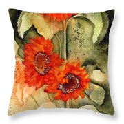 Passion, Energy, And Joy Throw Pillow
