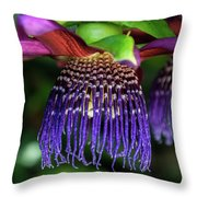 Passion Flower Ver. 10 Throw Pillow