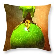 Great Passion Fruit Throw Pillow