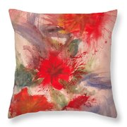 Passion In Three Throw Pillow