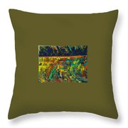 Passion Of A Man Throw Pillow