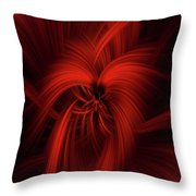 Passion Of Universe Throw Pillow