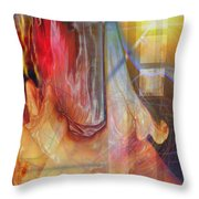 Passion Play Throw Pillow