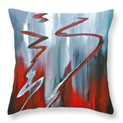 Passion Two Throw Pillow