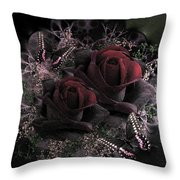 Passionate Roses 02 Throw Pillow