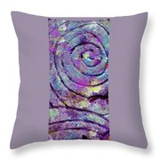 Passionate Swirl Throw Pillow