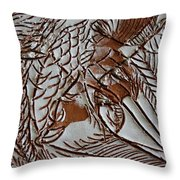 Passions - Tile Throw Pillow