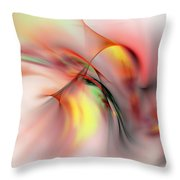Passions Flame Throw Pillow