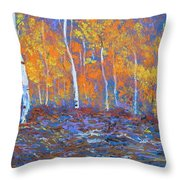 Passions Of Fall Throw Pillow