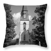 Past Congregation Throw Pillow