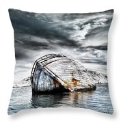 Past Glory Throw Pillow by Jacky Gerritsen