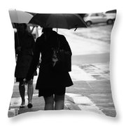 Past Is Near Throw Pillow