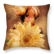 Past Life Throw Pillow