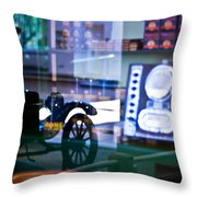Past Reflections Throw Pillow