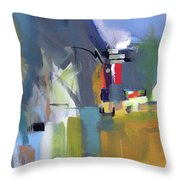 Past The Doorway Throw Pillow by John Jr Gholson