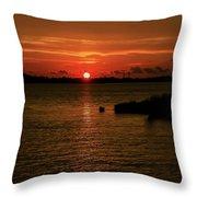 Past The Horizon Throw Pillow