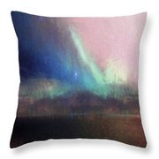 Pastel Ambience Throw Pillow