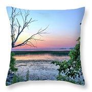 Pastel Clear Lake 3 Throw Pillow