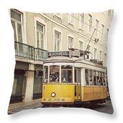 Tram 28 Throw Pillow