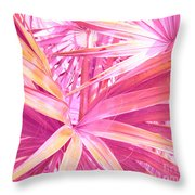 Pastel Dream In Pink Throw Pillow