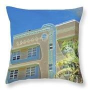 Pastel Hotel Throw Pillow