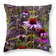 Pastel Morning Throw Pillow