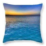 Pastel Ocean Throw Pillow