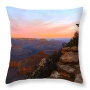 Pastel Point Throw Pillow