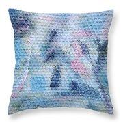 Pastel Promontory Throw Pillow